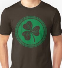 Clover & Braid - dark green T-Shirt