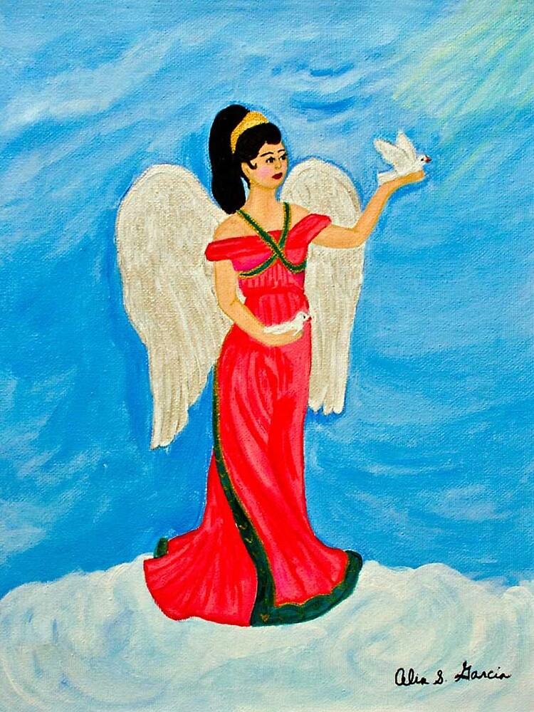 Angel&Dove1 by CeliaSGarciaArt