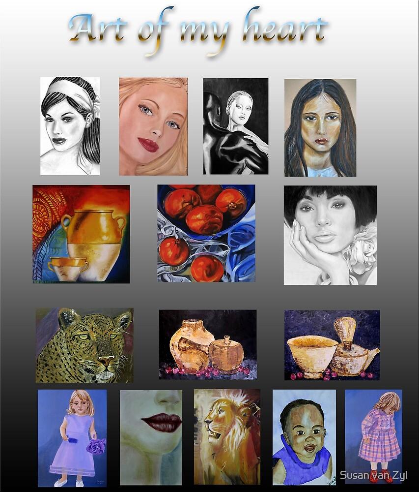 Art of my Heart by Susan van Zyl