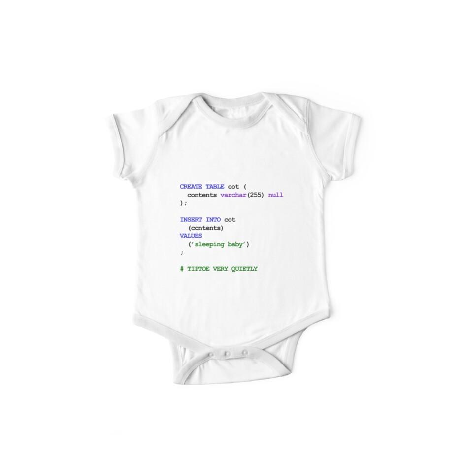 730caa3e4 MySQL Code New Baby - Rock baby to sleep