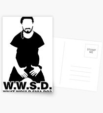 What Would Shia LaBeouf Do?  Postcards