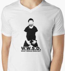 What Would Shia LaBeouf Do?  Men's V-Neck T-Shirt