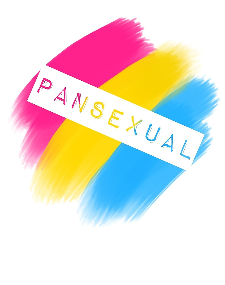 Pansexual Stripes by Brooke Patterson