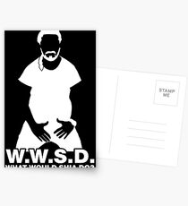 What Would Shia LaBeouf Do? WHITE Postcards