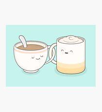 Kaffee, Tee .. alles ist gut von mir! Fotodruck