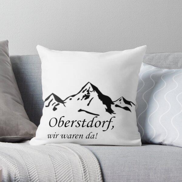 Oberstdorf, wir waren da! Dekokissen
