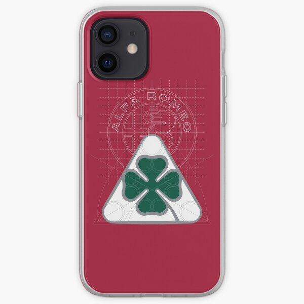 Alfa Romeo Quadrifoglio Ispirazione Coque souple iPhone
