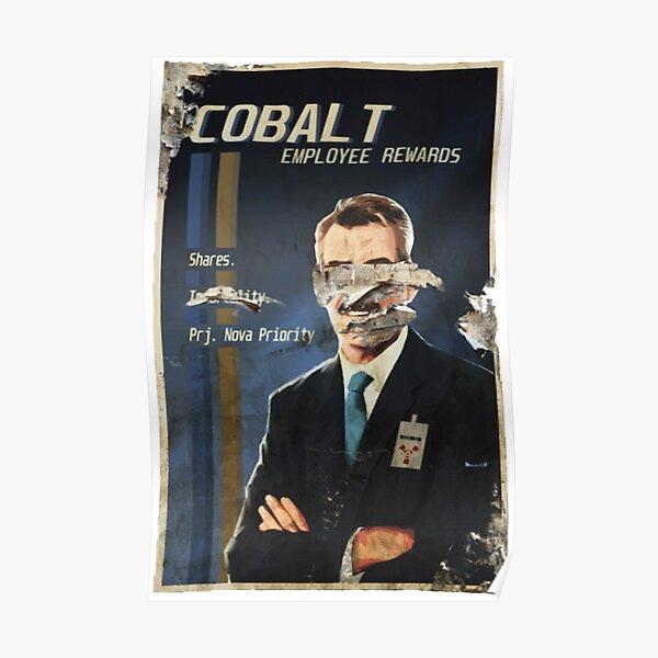 Belohnungen für Kobalt-Mitarbeiter Poster
