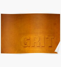 Grit Poster