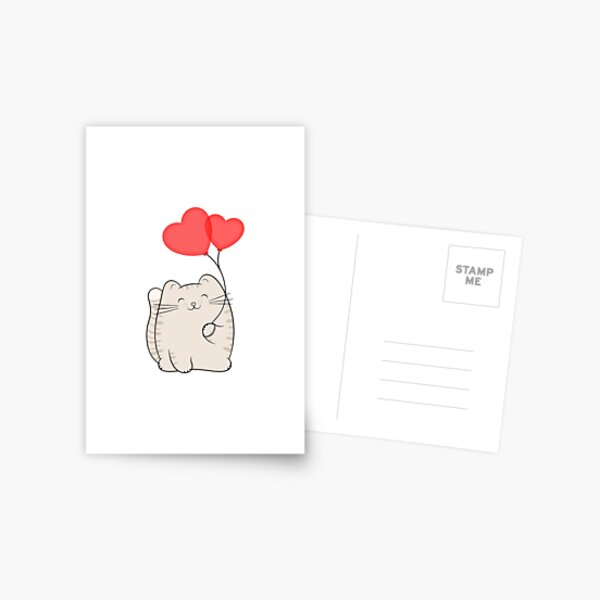 Eli, the love cat Postcard