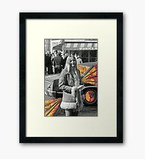 Band Aid Ride Along Framed Print