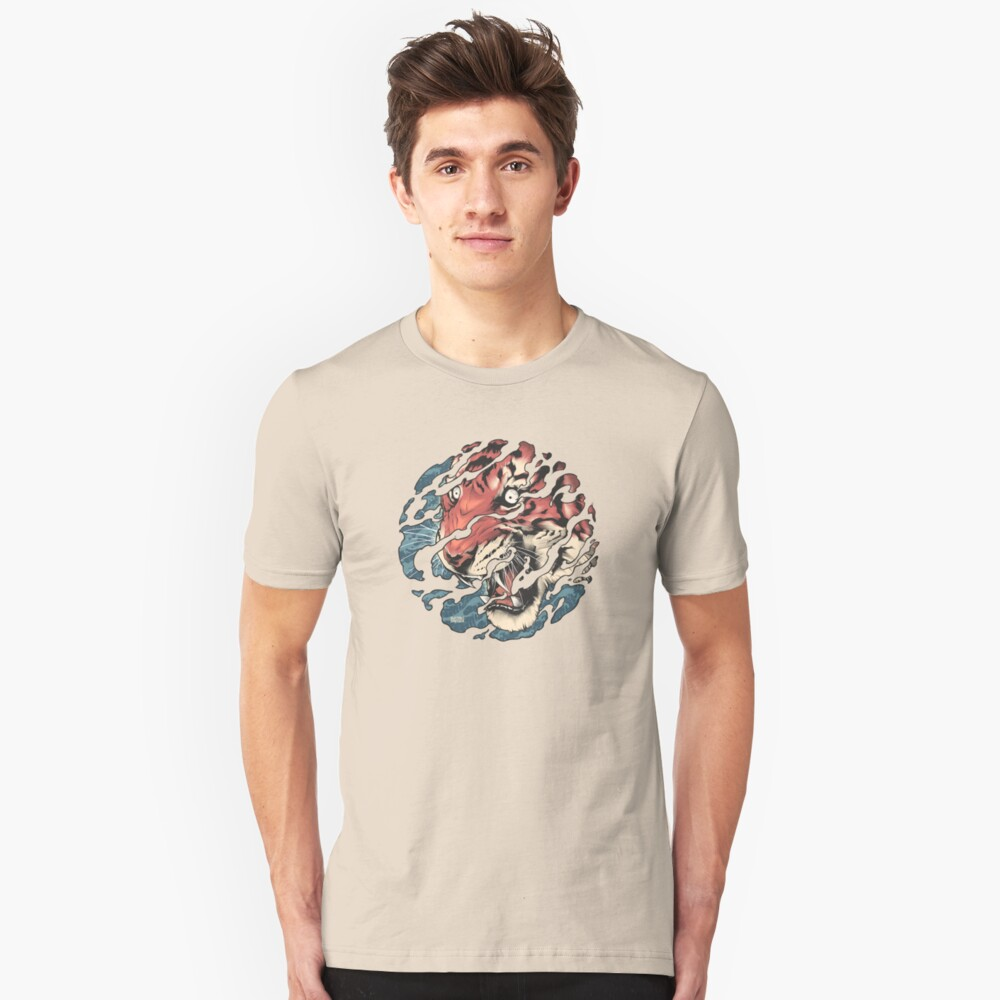 Tora - Japanese tiger tattoo art Unisex T-Shirt