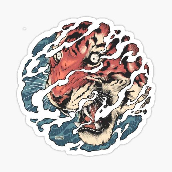 Tora - Japanese tiger tattoo art Sticker