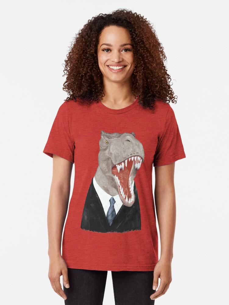Alternative Ansicht von T-Rex Vintage T-Shirt