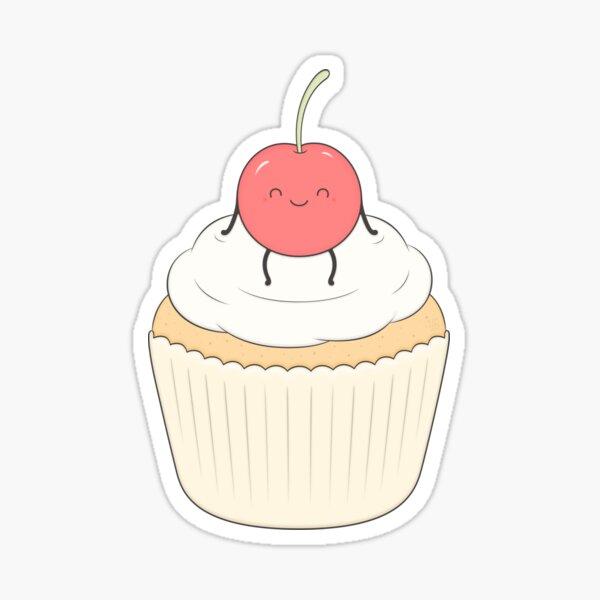 The cherry on the cake Sticker
