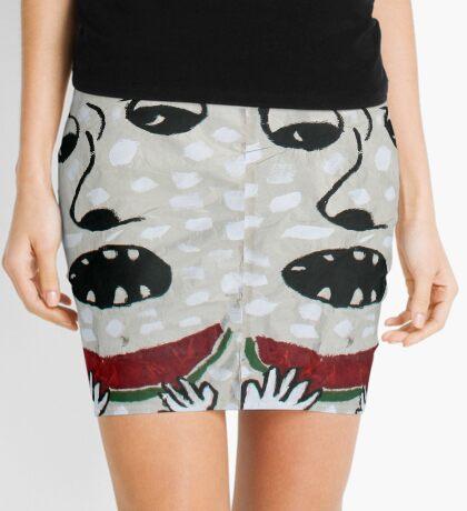 Yum Yum Watermelon! Mini Skirt