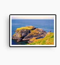 Spectacular glimpse of Carrick Island Canvas Print