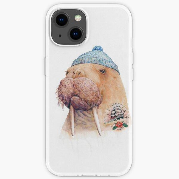 Tattooed Walrus iPhone Soft Case