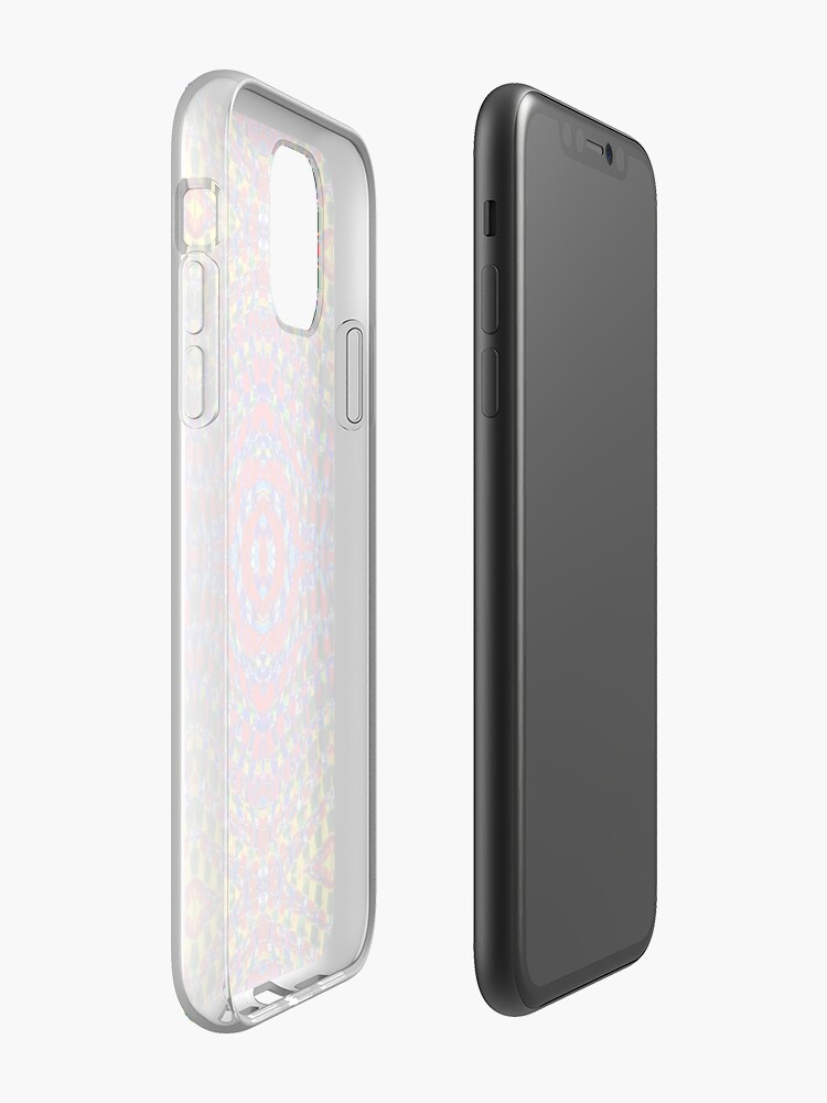 Coque iPhone « Œil de l'arc-en-ciel », par JLHDesign