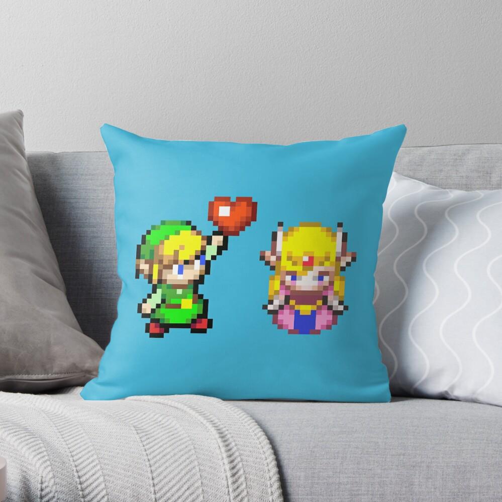 Zelda & Link Dekokissen
