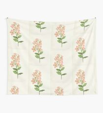 Familiar Flowers of India With Colored Plates, Lena Lowis 0017 Lagerstromi India Wall Tapestry