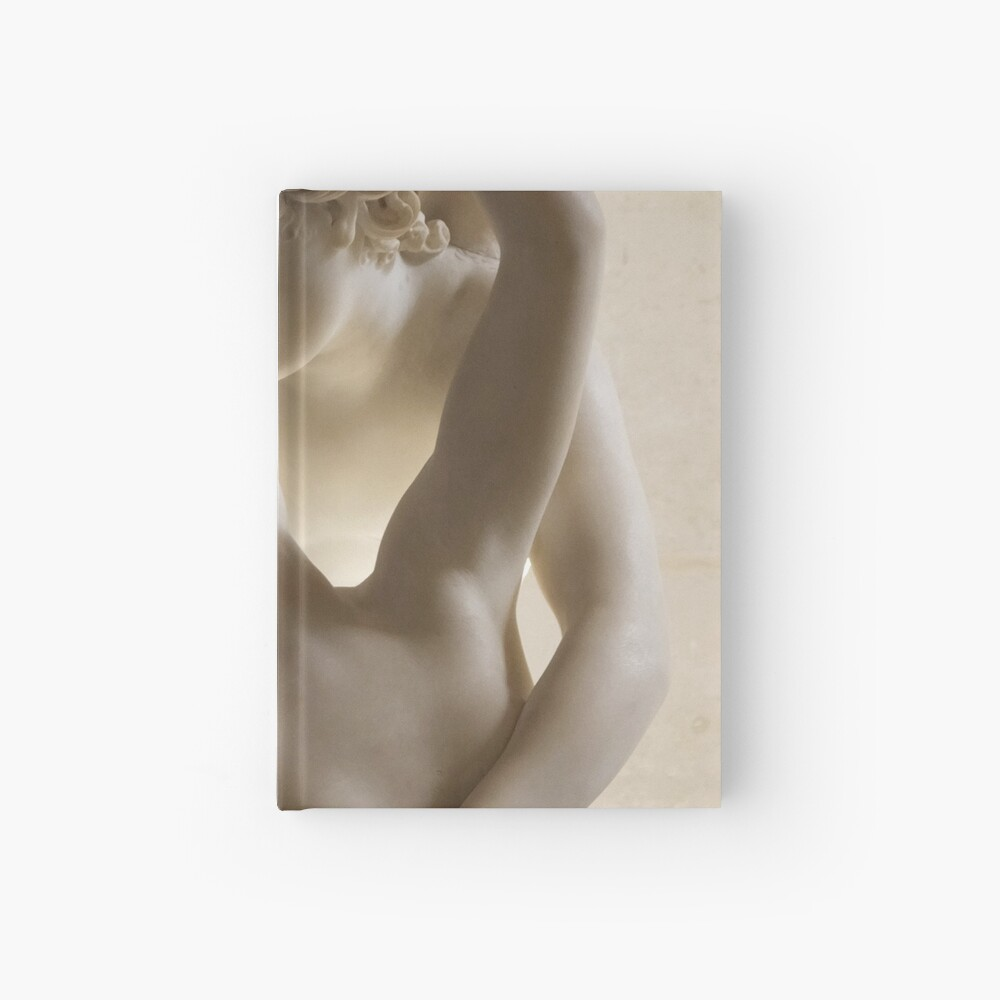 Psyche Revived by Cupids Kiss (Canova-Detail) Hardcover Journal