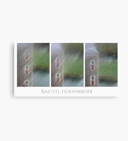 Kasteel Hoensbroek (triptych) Canvas Print