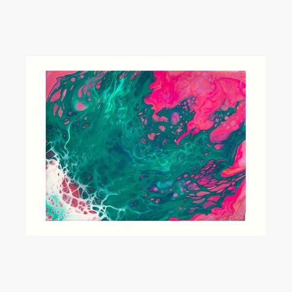 Nurtured By Colour Art Print