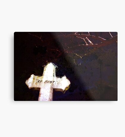 As Silent As The Grave 2 Metal Print