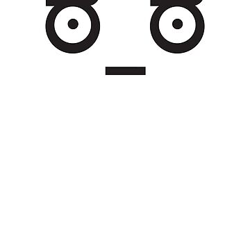 The Look of Disapproval - Sticker, T-Shirt, Phone Cases & More by Bukowsky
