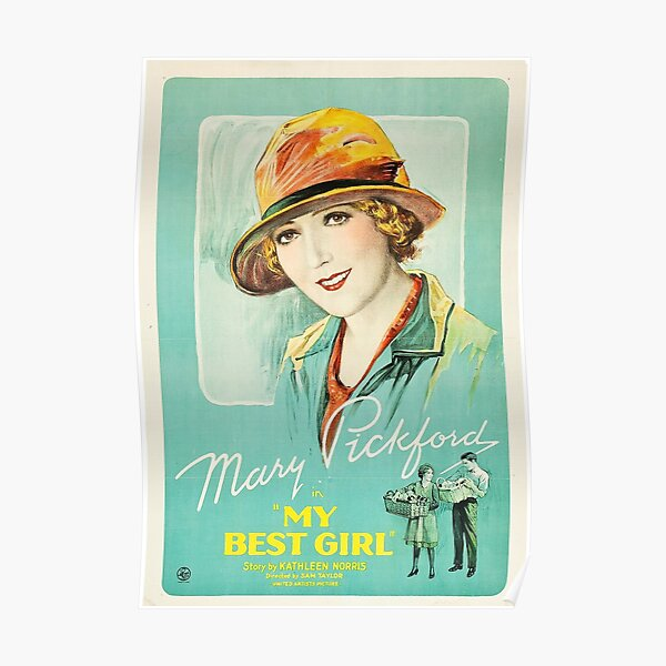 Classic Movie Poster - My Best Girl Poster