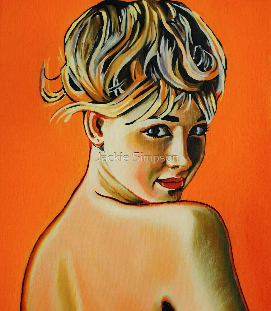 Pin Up Girl by Jacqueline Simpson