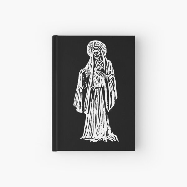 Santa Muerte. Spanish for Our Lady of Holy Death. Hardcover Journal