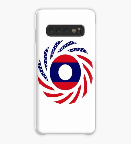 Lao American Multinational Patriot Flag Series Case/Skin for Samsung Galaxy