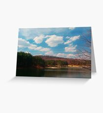 Parker Dam in Spring Greeting Card