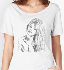 brigitte bardot Women's Relaxed Fit T-Shirt