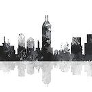 Indiana Indianapolis Skyline von Marlene Watson