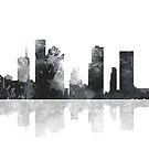 Houston Texas Skyline von Marlene Watson