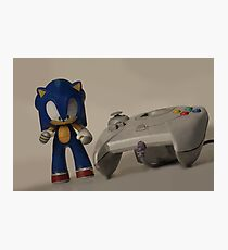 Sonic & Dreamcast Photographic Print
