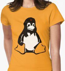 Linux tux Penguin Che  Women's Fitted T-Shirt