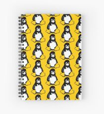 Linux tux Penguin Che  Spiral Notebook