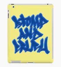 Stomp and Crush - 2015 - Blue iPad Case/Skin