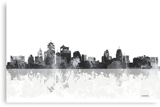 Kansas City Missouri Skyline by Marlene Watson