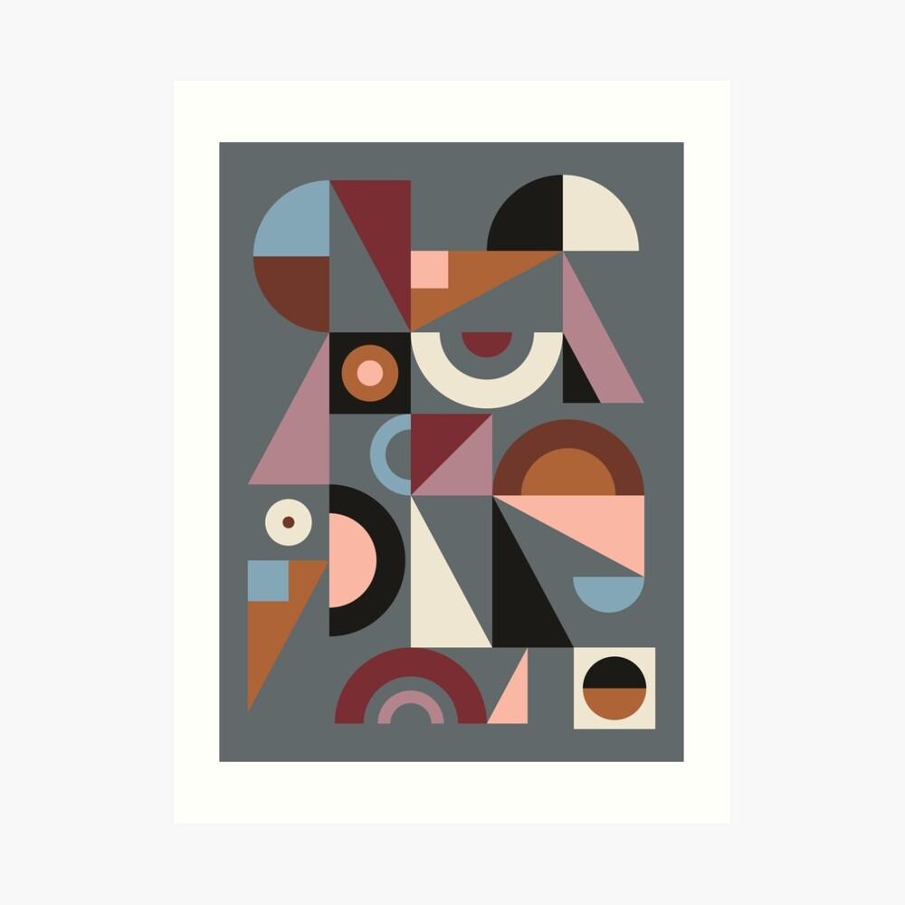 Graphic #9 Art Print