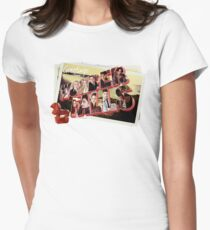 Greetings from Wonderfalls Women's Fitted T-Shirt