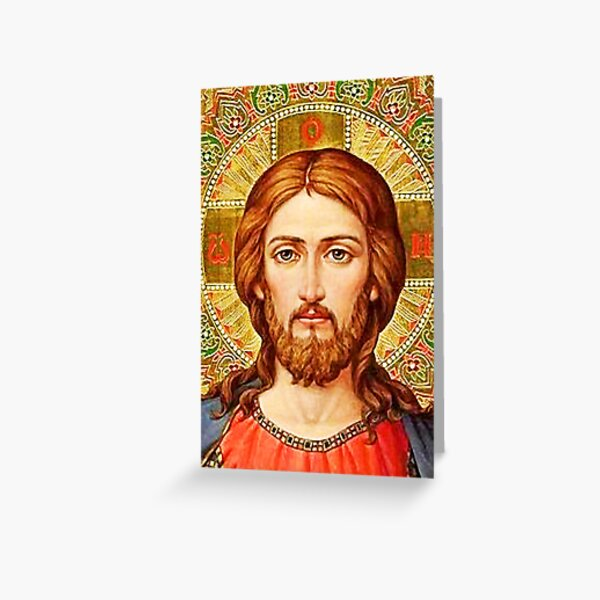 The Icon Greeting Card