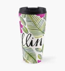 Killin' It – Tropical Pink Travel Mug