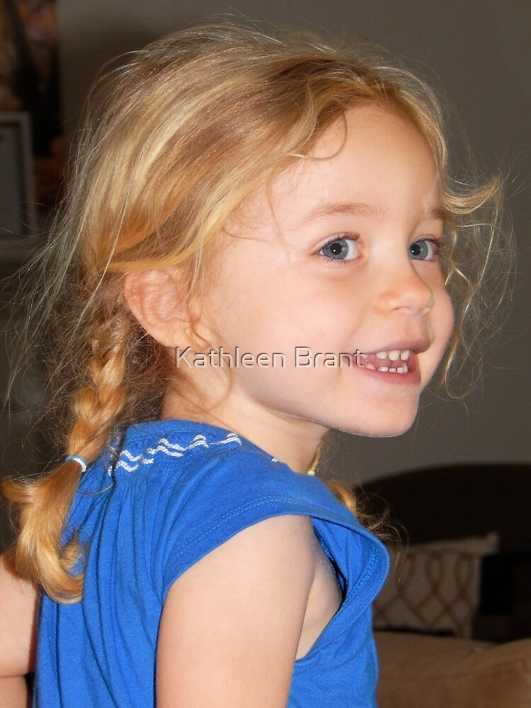 Three Years Old Today by Kathleen Brant