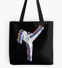 MMA Kickboxing Girl Tote Bag
