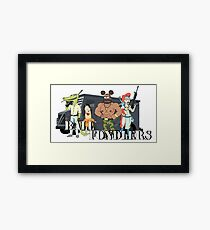 Ball Fondlers Framed Print